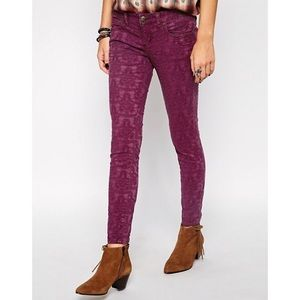 "Free People ""Jacquard Jeans"""